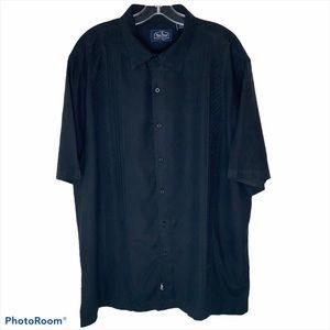 Nat Nast Black Short Sleeve Casual Shirt